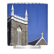 Church In Tacoma Washington 4 Shower Curtain