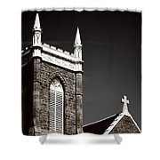 Church In Tacoma Washington 5 Shower Curtain