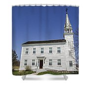 Church In Westerlo Shower Curtain