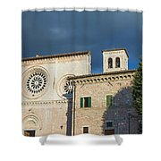 Church Of  Di San Pietro In Assisi Shower Curtain