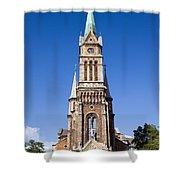 Church Of Ferencvaros In Budapest Shower Curtain