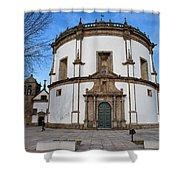 Church Of Monastery Of Serra Do Pilar In Portugal Shower Curtain