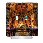 Church Of Saint Agnes Shower Curtain