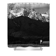 Church Of Saint Peter In Black And White Shower Curtain