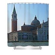 Church Of San Giorgio Maggiore Shower Curtain