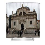Church Of St. Blasius Shower Curtain