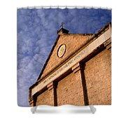 Church Of The Apostle Nathanael Bartholomew In Cana Shower Curtain