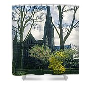 Church Of The Blessed Mary Shower Curtain