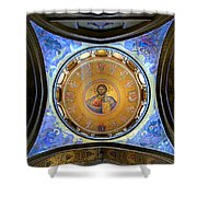 Church Of The Holy Sepulchre Catholicon Shower Curtain
