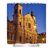 Church Of The Holy Spirit In Warsaw Shower Curtain
