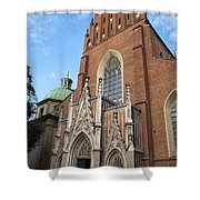 Church Of The Holy Trinity In Krakow Shower Curtain