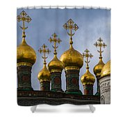 Church Of The Nativity Of Moscow Kremlin Shower Curtain