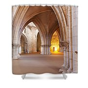 Church Of The Sao Francisco Convent Shower Curtain