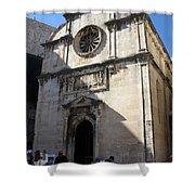 Church Of The Saviour Shower Curtain