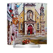 Church On Sunday Shower Curtain