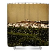 Church On The Hill - Andalusia Shower Curtain
