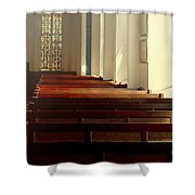 Peaceful Reflections Shower Curtain