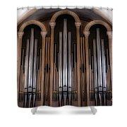Church Pipes Shower Curtain