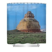 Church Rock On The Road To Moab Shower Curtain