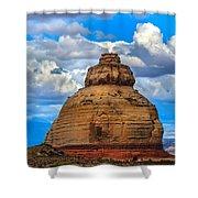 Church Rock Shower Curtain by Robert Bales