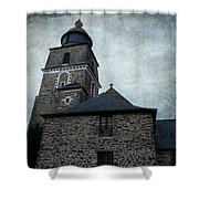 Church Saint Malo Shower Curtain