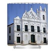 Church Sao Luis Brazil Shower Curtain
