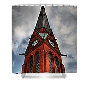 Church Spire Hdr Shower Curtain