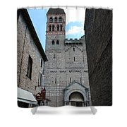 Church St. Philibert - Tournus Shower Curtain
