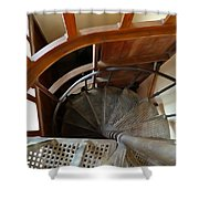 Church Stairs Shower Curtain