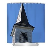 Church Steeple In Buckley Washington Shower Curtain