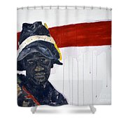 Church Street Bootblack				 Shower Curtain