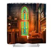 Church Vestibule Shower Curtain