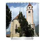 Church Village Tirol Shower Curtain