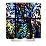 Church Window Shower Curtain by Tommytechno Sweden