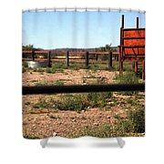 Chute And Butte 14979 Shower Curtain