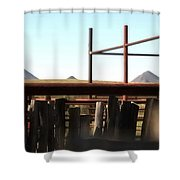Chute And Buttes 16108 Shower Curtain