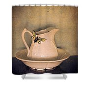 Cicada On Pitcher Shower Curtain