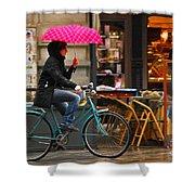 Ciclista - Milano Shower Curtain