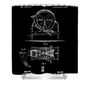Cider Mill Patent Shower Curtain