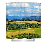 Cieszyn Beskidy Panorama Shower Curtain