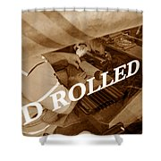 Cigars The Old Fashion Way Shower Curtain