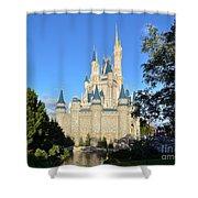 Cinderella's Castle II Shower Curtain