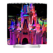 Cinderellas Castle Number One Shower Curtain