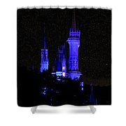 Cinderellas Night Shower Curtain