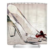 Cinderella's Slipper Shower Curtain