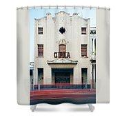 Cinema Cuba Shower Curtain