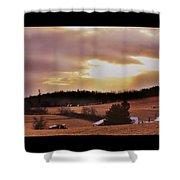 Cinema Sunset Shower Curtain