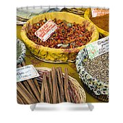 Cinnamon And Spice Shower Curtain