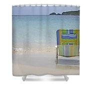 Cinnamon Beach Shower Curtain