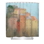 Cinque Terre Shower Curtain by Steve Mitchell